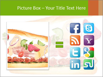 French Burger PowerPoint Templates - Slide 21