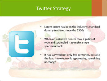 French Burger PowerPoint Templates - Slide 9