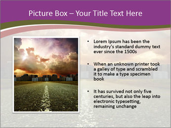 Field and Road PowerPoint Template - Slide 13