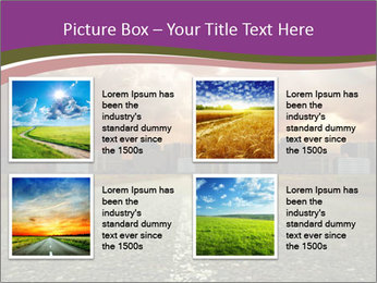 Field and Road PowerPoint Template - Slide 14