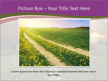 Field and Road PowerPoint Template - Slide 15