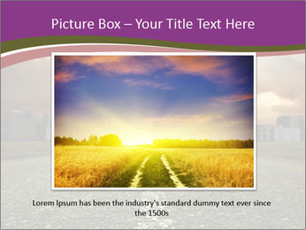 Field and Road PowerPoint Template - Slide 16