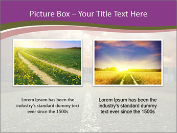 Field and Road PowerPoint Template - Slide 18