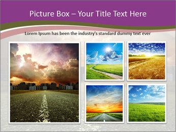 Field and Road PowerPoint Template - Slide 19