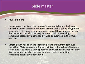 Field and Road PowerPoint Template - Slide 2