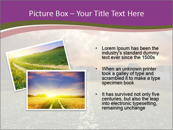 Field and Road PowerPoint Template - Slide 20