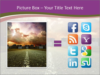 Field and Road PowerPoint Template - Slide 21