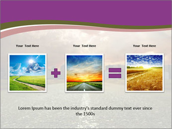 Field and Road PowerPoint Template - Slide 22