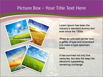 Field and Road PowerPoint Template - Slide 23