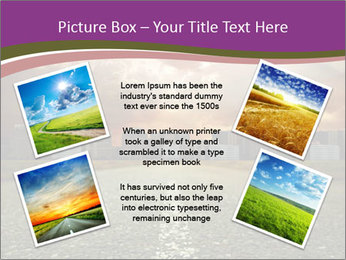 Field and Road PowerPoint Template - Slide 24