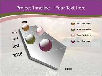 Field and Road PowerPoint Template - Slide 26