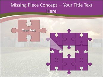 Field and Road PowerPoint Template - Slide 45
