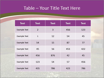Field and Road PowerPoint Template - Slide 55