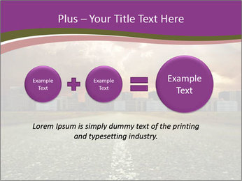 Field and Road PowerPoint Template - Slide 75