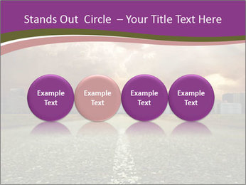 Field and Road PowerPoint Template - Slide 76