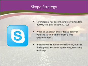 Field and Road PowerPoint Template - Slide 8