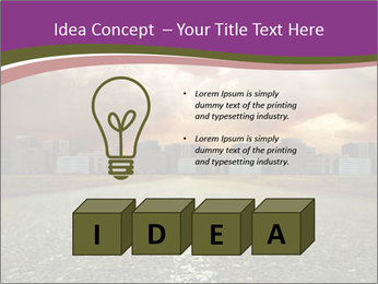Field and Road PowerPoint Template - Slide 80