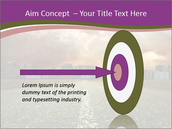 Field and Road PowerPoint Template - Slide 83