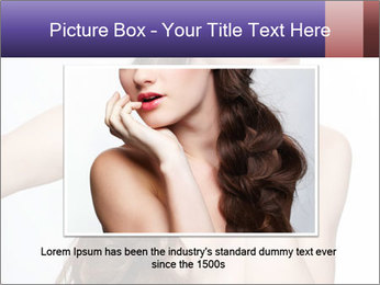 Naked Lady with Creative Hairdo PowerPoint Template - Slide 15