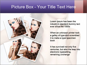 Naked Lady with Creative Hairdo PowerPoint Template - Slide 23