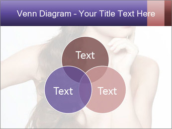 Naked Lady with Creative Hairdo PowerPoint Template - Slide 33