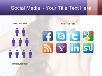 Naked Lady with Creative Hairdo PowerPoint Template - Slide 5