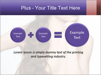Naked Lady with Creative Hairdo PowerPoint Template - Slide 75