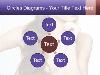 Naked Lady with Creative Hairdo PowerPoint Template - Slide 78