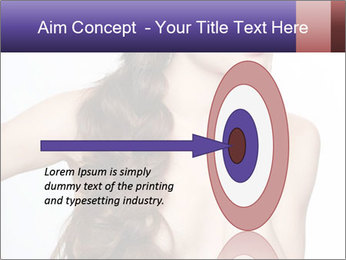 Naked Lady with Creative Hairdo PowerPoint Template - Slide 83