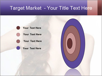 Naked Lady with Creative Hairdo PowerPoint Template - Slide 84