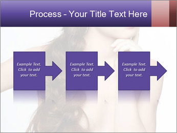Naked Lady with Creative Hairdo PowerPoint Template - Slide 88