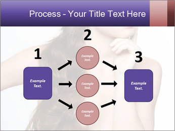 Naked Lady with Creative Hairdo PowerPoint Template - Slide 92