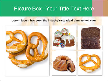 Three Pretzels with Sea Salt PowerPoint Template - Slide 19