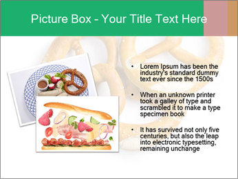 Three Pretzels with Sea Salt PowerPoint Template - Slide 20