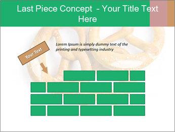 Three Pretzels with Sea Salt PowerPoint Template - Slide 46