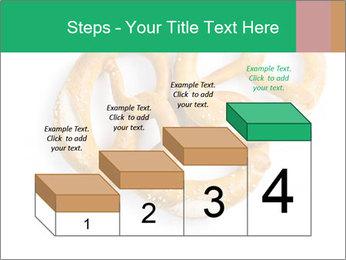Three Pretzels with Sea Salt PowerPoint Template - Slide 64
