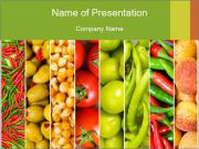 Products for Dieting PowerPoint Templates