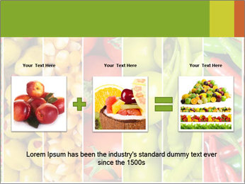 Products for Dieting PowerPoint Templates - Slide 22