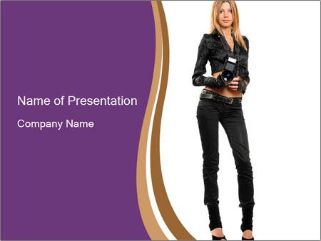Fashion Photographer PowerPoint Templates