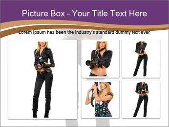Fashion Photographer PowerPoint Templates - Slide 19