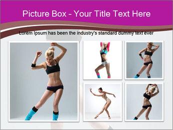 Fitness Dance PowerPoint Templates - Slide 19