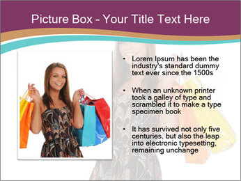 Shopping Tour PowerPoint Template - Slide 13