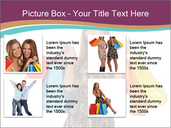 Shopping Tour PowerPoint Template - Slide 14