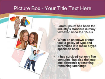 Shopping Tour PowerPoint Template - Slide 17
