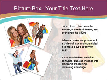 Shopping Tour PowerPoint Template - Slide 23