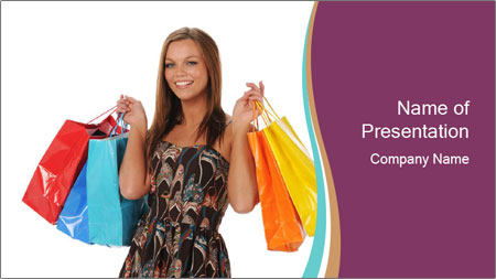 Shopping Tour PowerPoint Template