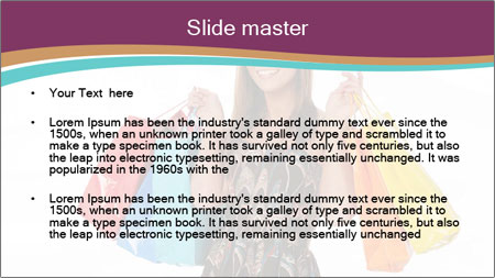 Shopping Tour PowerPoint Template - Slide 2