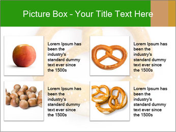 Salty Pretzel PowerPoint Template - Slide 14