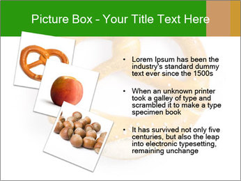 Salty Pretzel PowerPoint Template - Slide 17