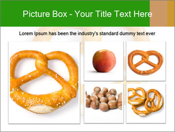 Salty Pretzel PowerPoint Template - Slide 19